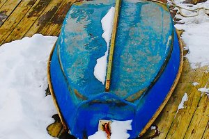 Wooden Boat, Winter