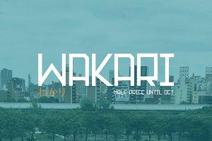 Wakari - Half Price