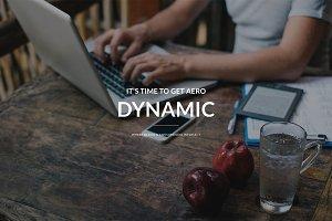 Dynamic - Portfolio Template