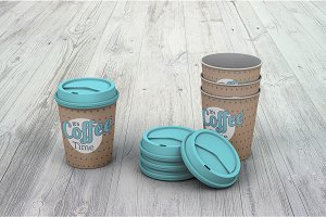 Coffee Cups Mock-up