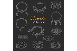 Fashionable Bracelets Collection