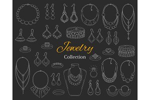 Fashionable Jewelry Collection