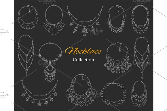 Fashionable Necklaces Collection
