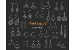 Fashionable Earrings Collection