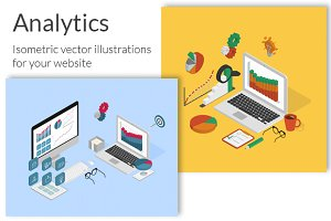 Analytics process isometric