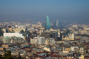 Tbilisi's downtown