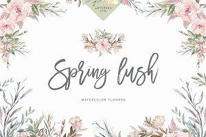 Spring Lush Flowers