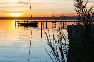 Sunset at Lake Neusiedl #01