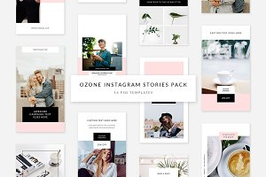 Ozone Instagram Stories Pack