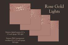 Rose gold lights