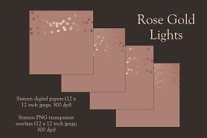 Rose gold lights
