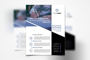 Accounting Services Flyer #084