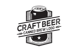 Craft Beer Can Logo