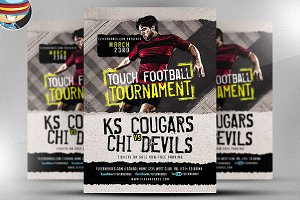 Touch Football Tournament Flyer
