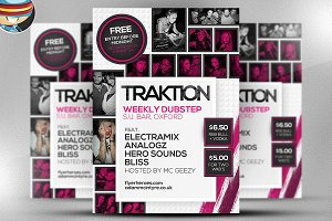 Traktion Flyer Template 2