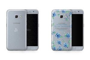 Galaxy A3 2017 UV TPU Clear Case