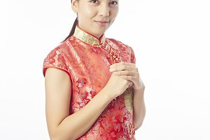 Happy Chinese New Year Portrait