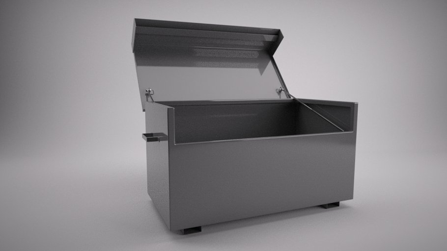 Secure Tool Chest [Rigged]