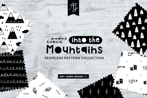 Monochrome Wilderness Patterns in Patterns