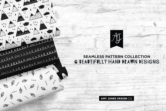 Monochrome Wilderness Patterns in Patterns - product preview 1
