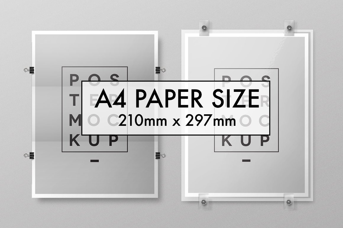 Mockup Poster Tabloid size ~ Templates ~ Creative Market