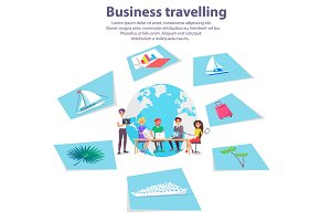 Business Travelling Agency Advertisement Banner