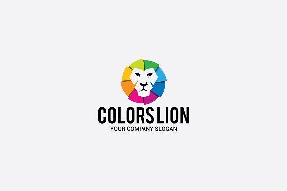 Colors Lion
