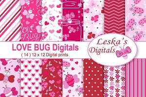 Valentine Digital Love Bug Pack