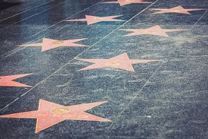 Walk of Fame in Hollywood