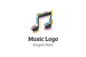 Musical Note Logo
