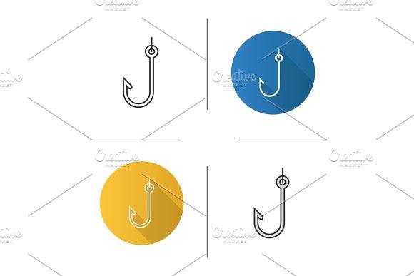 Hook Icons Set