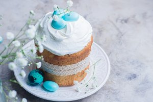 Easter cake kulich.