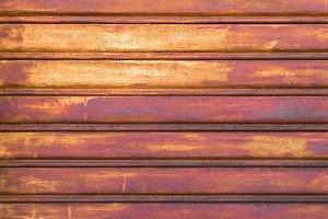 Rotten door garage