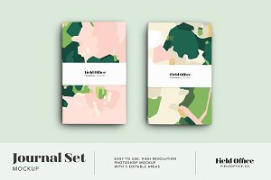 Journal Set Product Mockup