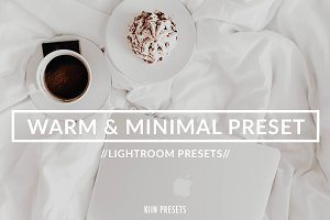 MINIMAL BLOGGER LIGHTROOM PRESET