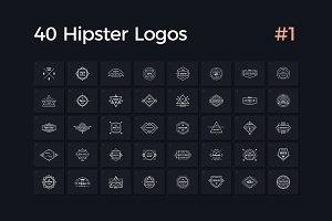 40 Hipster Logos Vol. 1