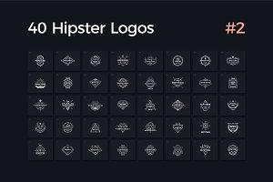 40 Hipster Logos Vol. 2