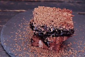 Coffee break. Coffee cake on the rig