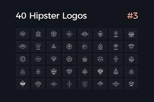 40 Hipster Logos Vol. 3