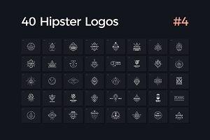 40 Hipster Logos Vol. 4