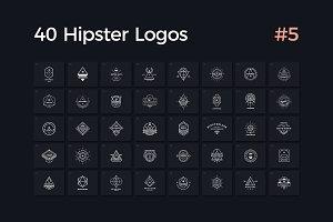 40 Hipster Logos Vol. 5