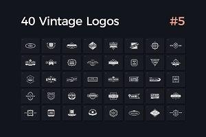 40 Vintage Logos Vol. 5