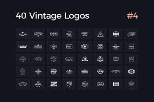 40 Vintage Logos Vol. 4
