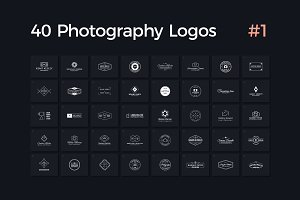 40 Photography Logos Vol. 1