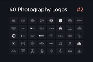 40 Photography Logos Vol. 2