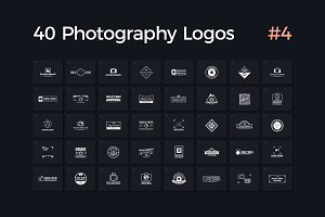 40 Photography Logos Vol. 4