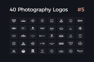 40 Photography Logos Vol. 5