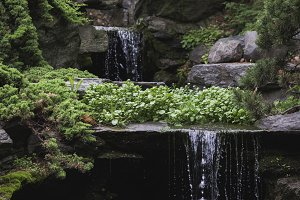 small waterfall