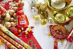 Chinese new year festival decoration