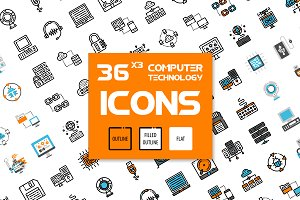 36x3 Computer icons